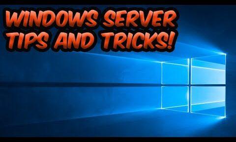 windows server 2019 tips and tricks